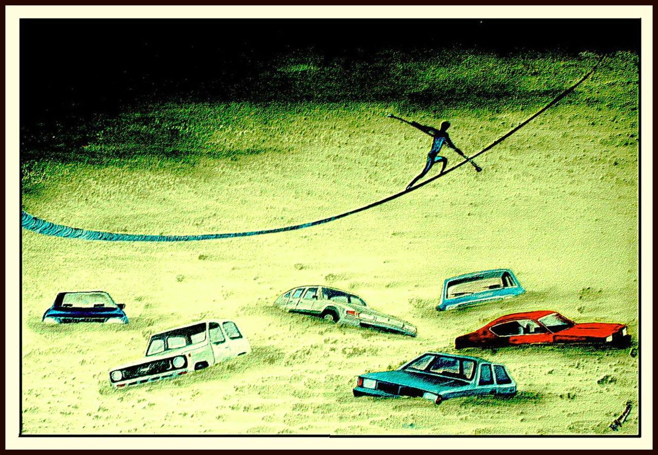 Abdelali Announi Le sable