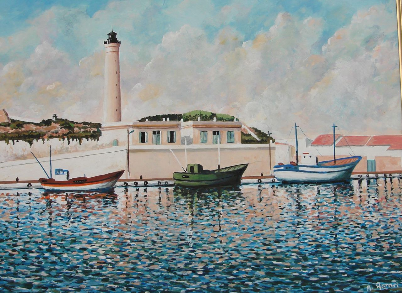 Abdelkrim Hamri Le port de Cherchell