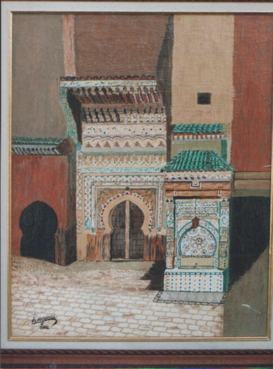 abderrahim ELMOUJAOUID la fontaine néjarine de Fès - Maroc