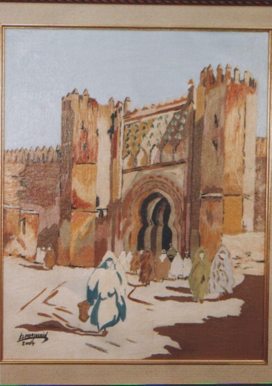 abderrahim ELMOUJAOUID porte de chela - Maroc