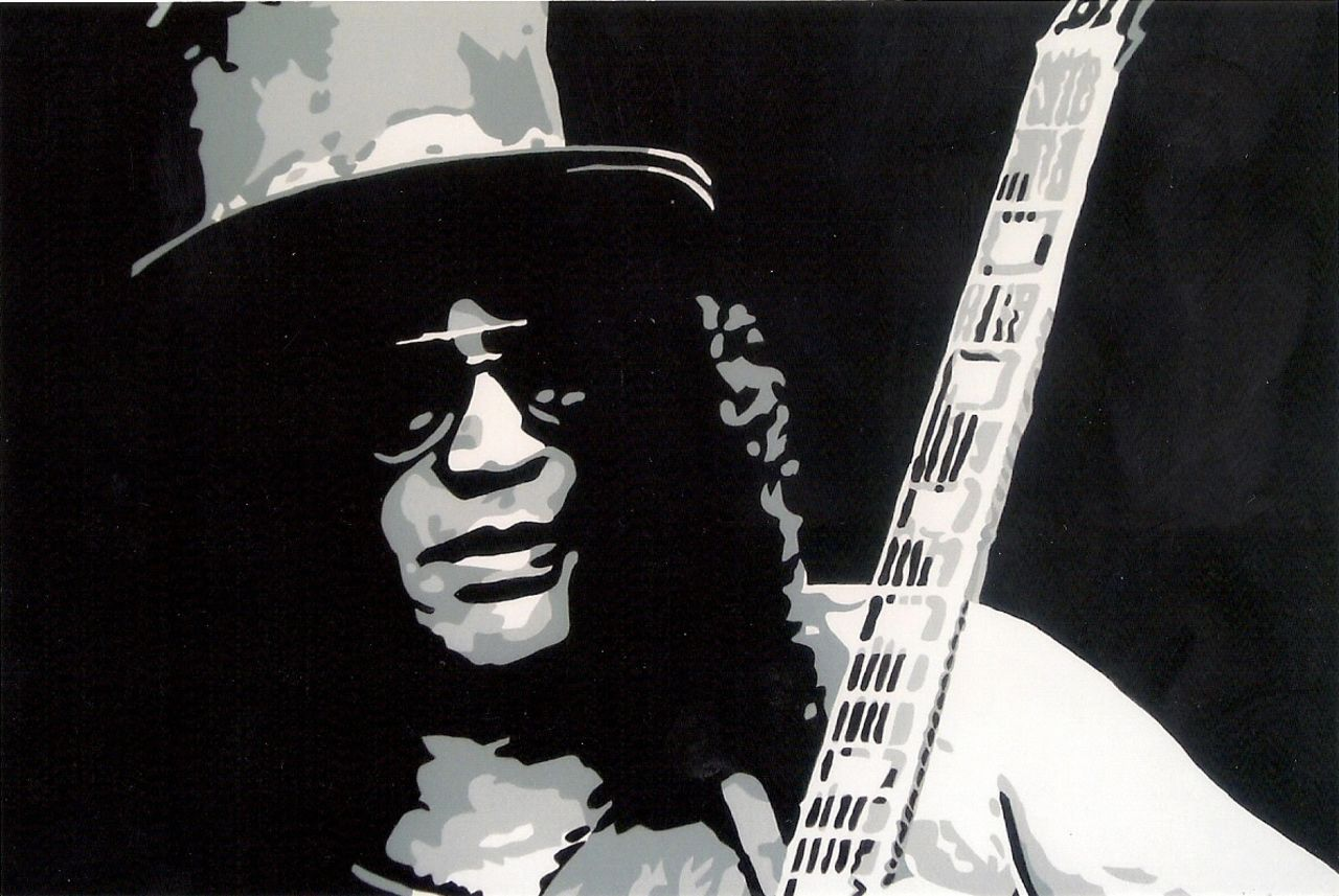 "Adolphe BARBONI GUITARISTE "" SLASH """