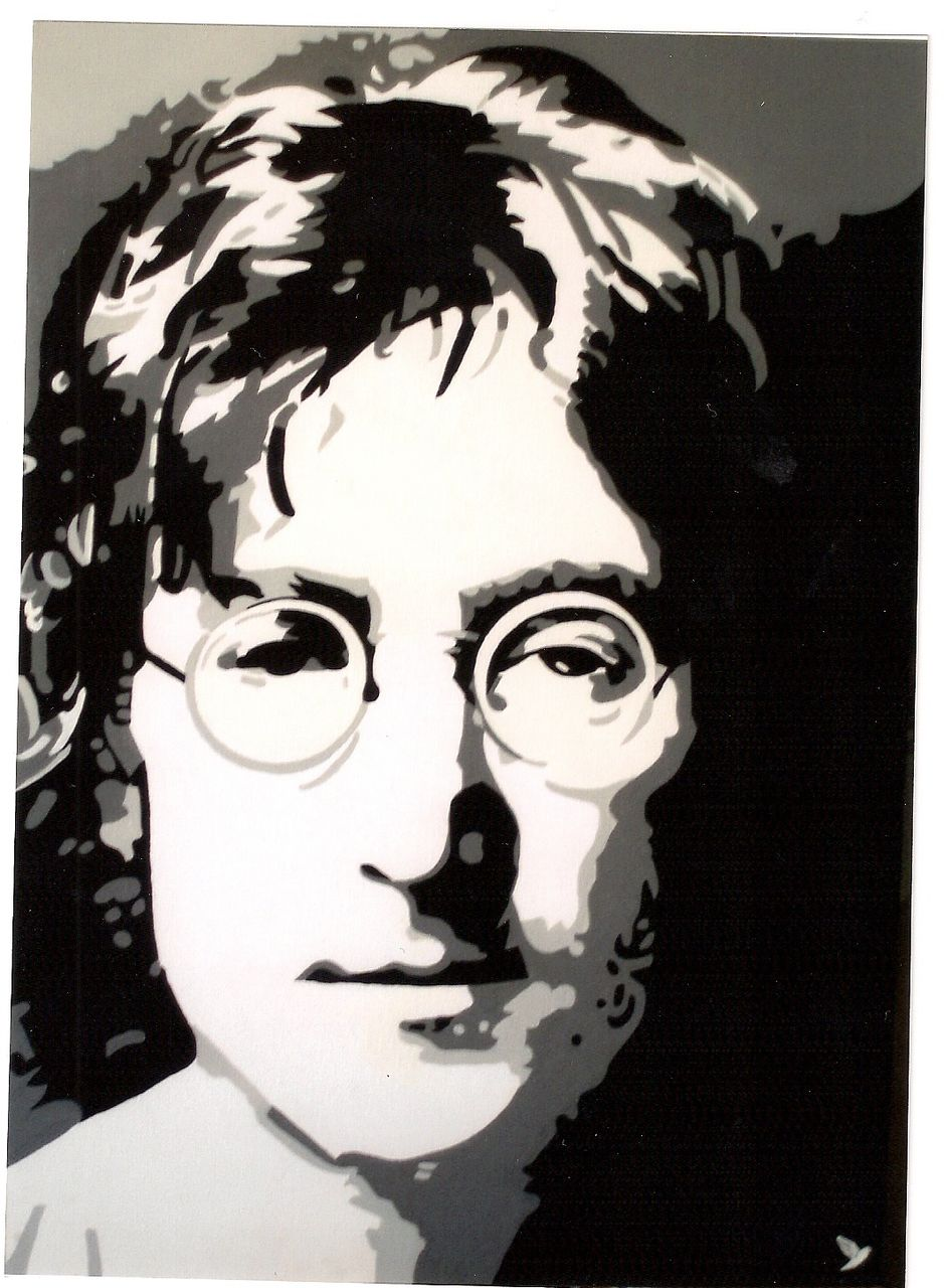 "Adolphe BARBONI IMAGINE  "" JOHN LENNON """