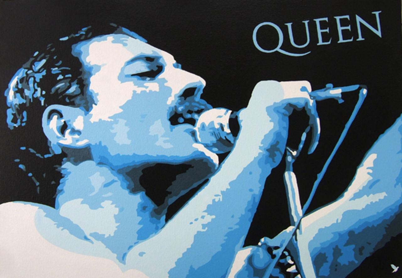 "Adolphe BARBONI queen "" Freddie Mercury """