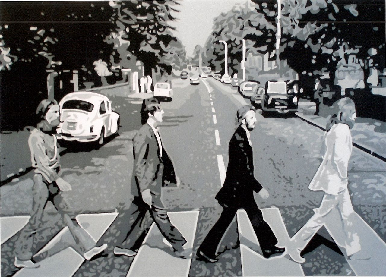 "Adolphe BARBONI THE BEATLES  "" ABBEY ROAD """