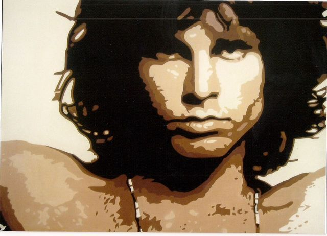 "THE DOORS  "" JIM MORRISON """