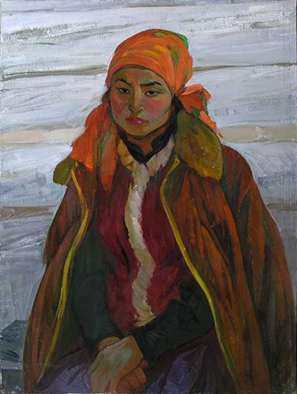 Aleksey Motorin Girl of Altai Mountains