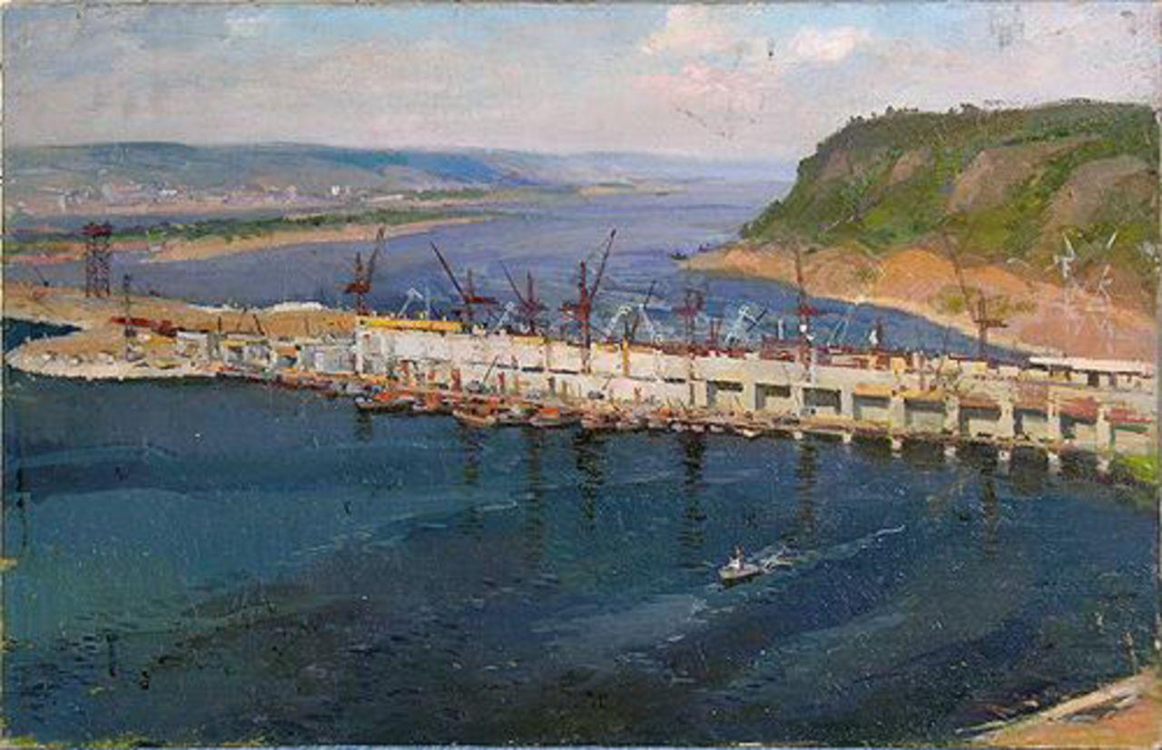 Aleksey Motorin Kuibyshev Hydroelectric Power Plant