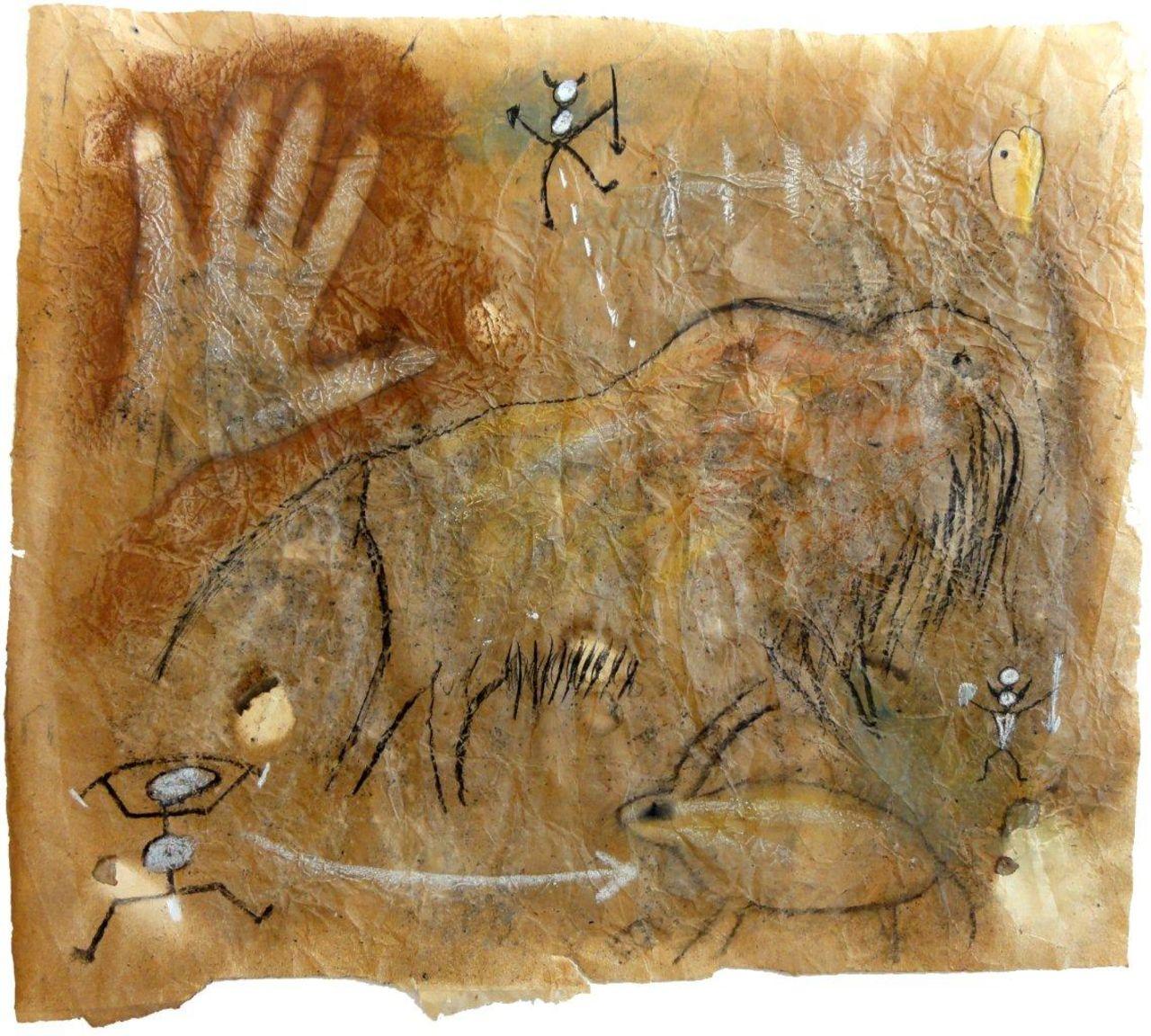 ANDREA BENETTI Mano con mammut