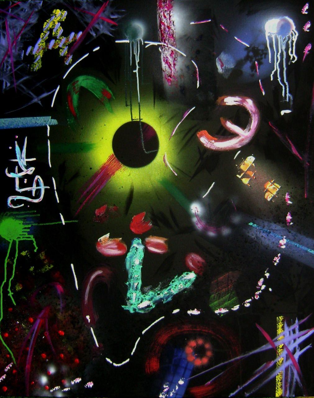 Anthony Oliver Espace Cosmique (série)