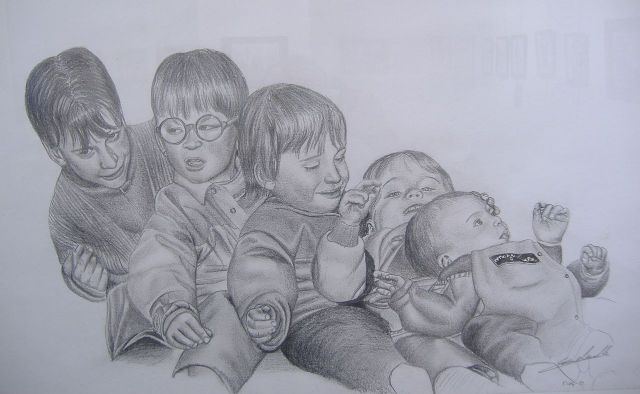 Antoine Delesalle petits enfants