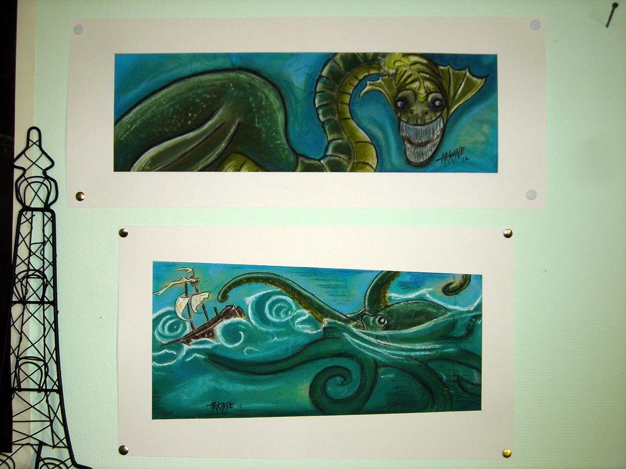 Arkane Léviathan et octopus