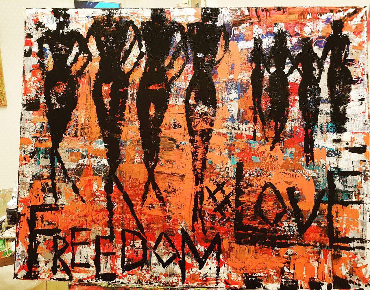 Art by Eva-Lotta Olsson Love your freedom