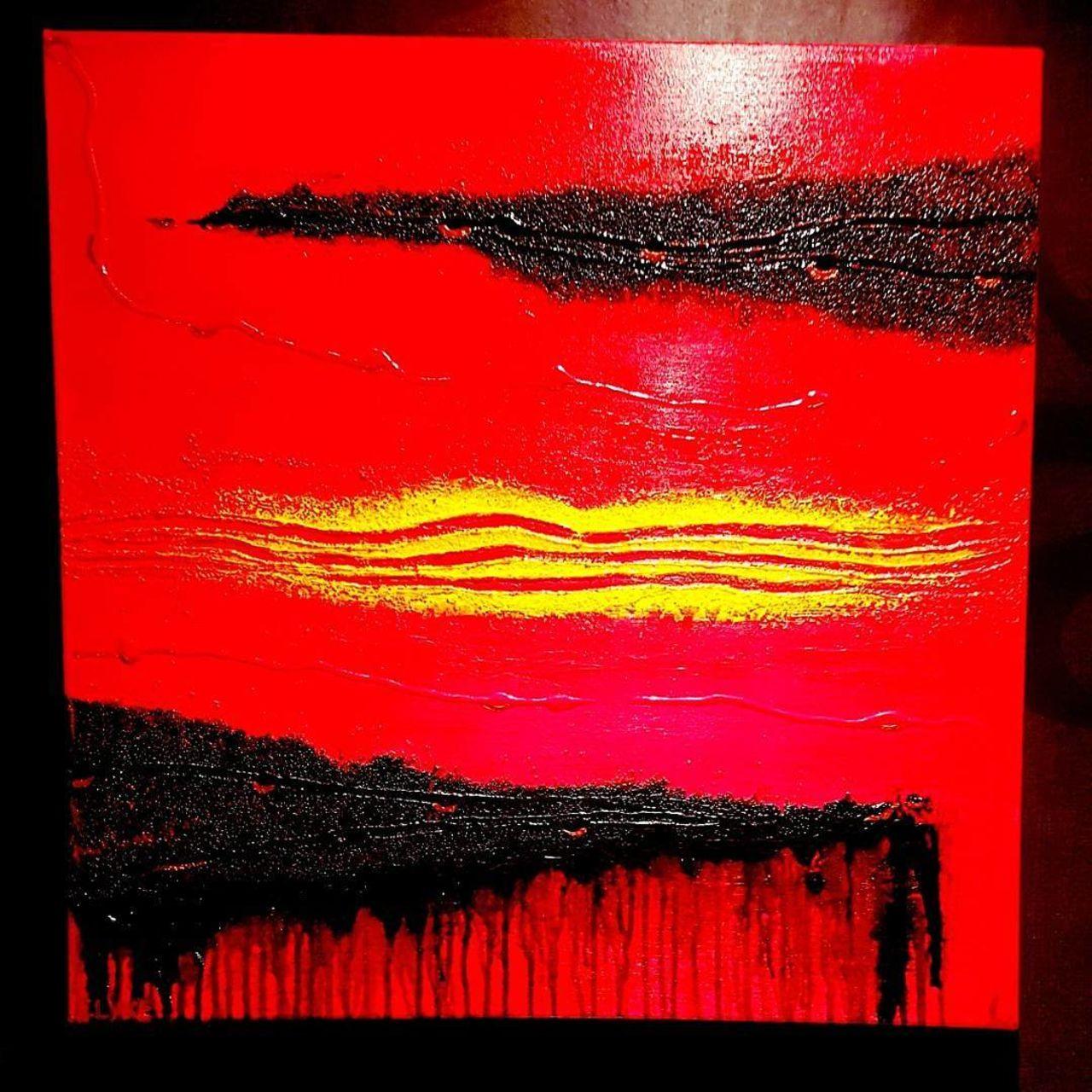 Art by Eva-Lotta Olsson Red island