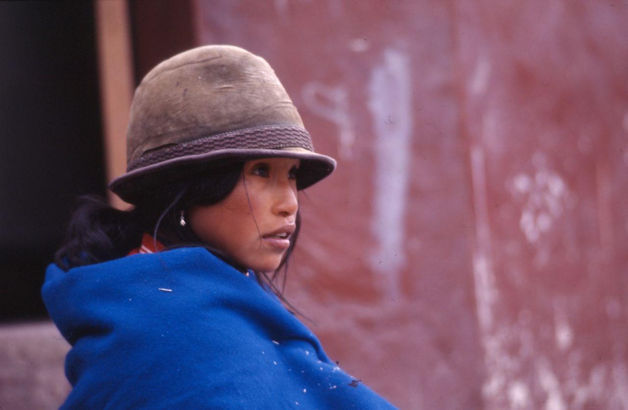 BARRE Yvon Femme équatorienne