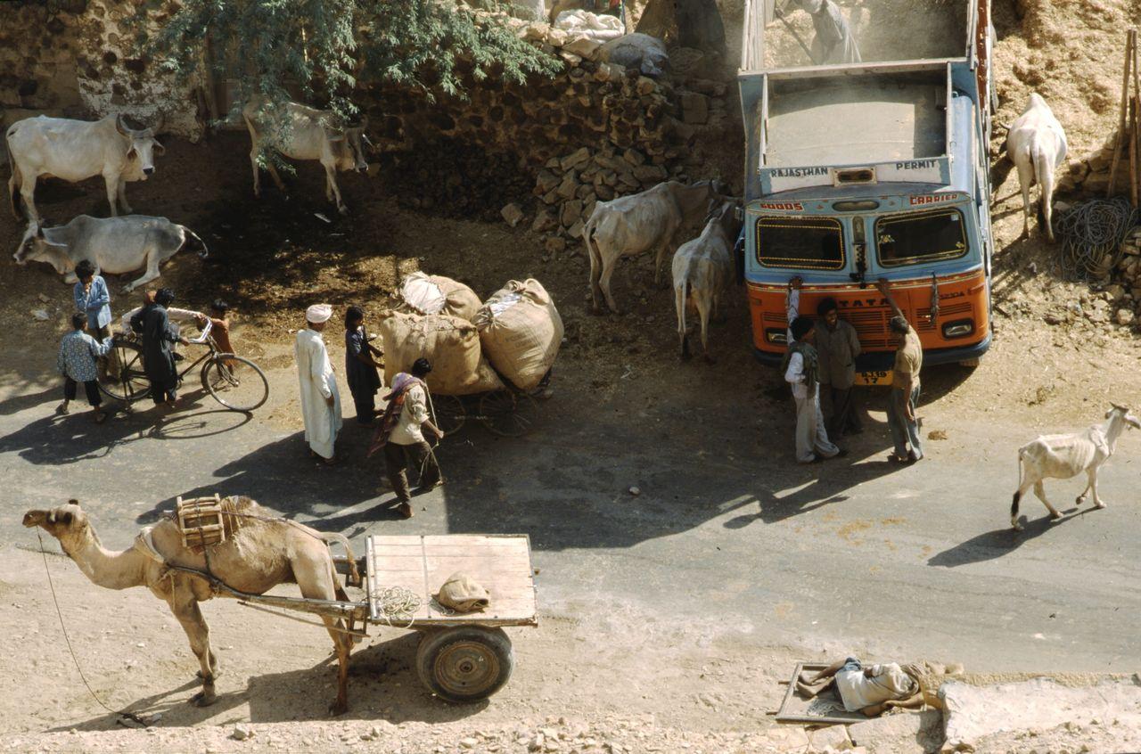 BARRE Yvon Rajasthan Street (3)