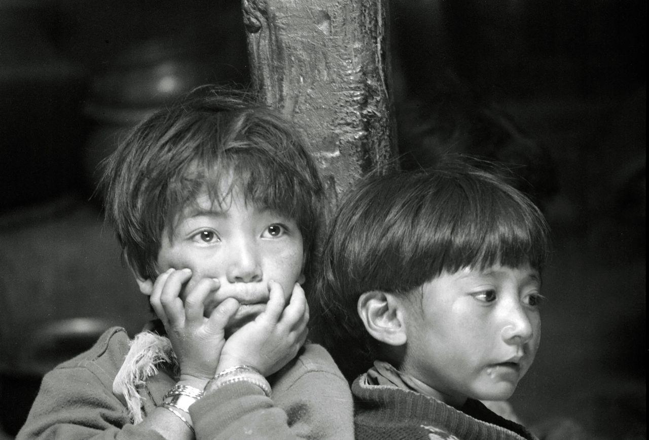 BARRE Yvon children ladakh