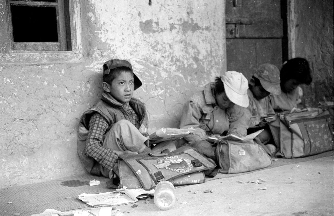 BARRE Yvon School ladakh