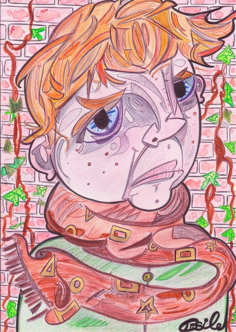 Basile Châtelain le garçon roux