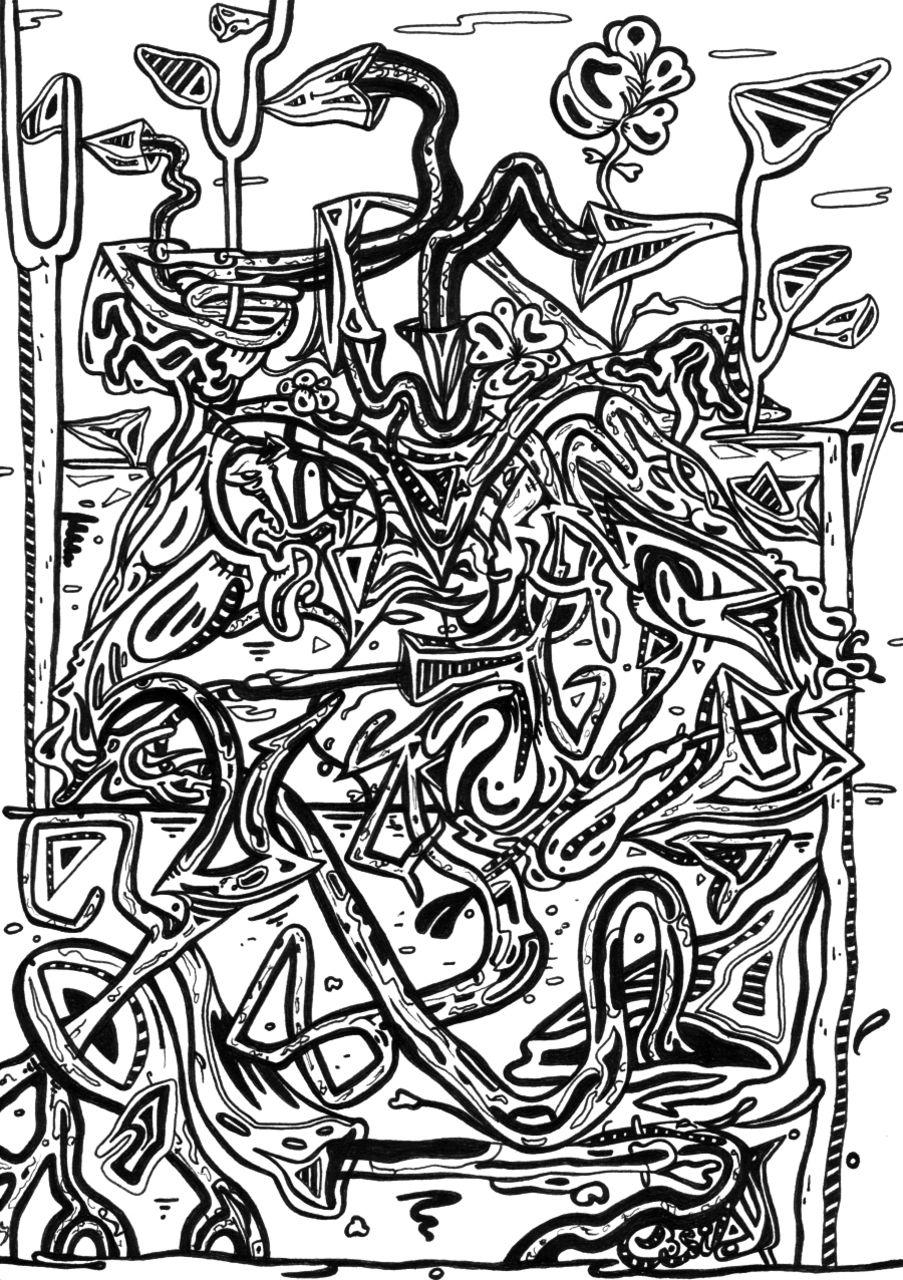 Basile Châtelain les racines du noir et blanc