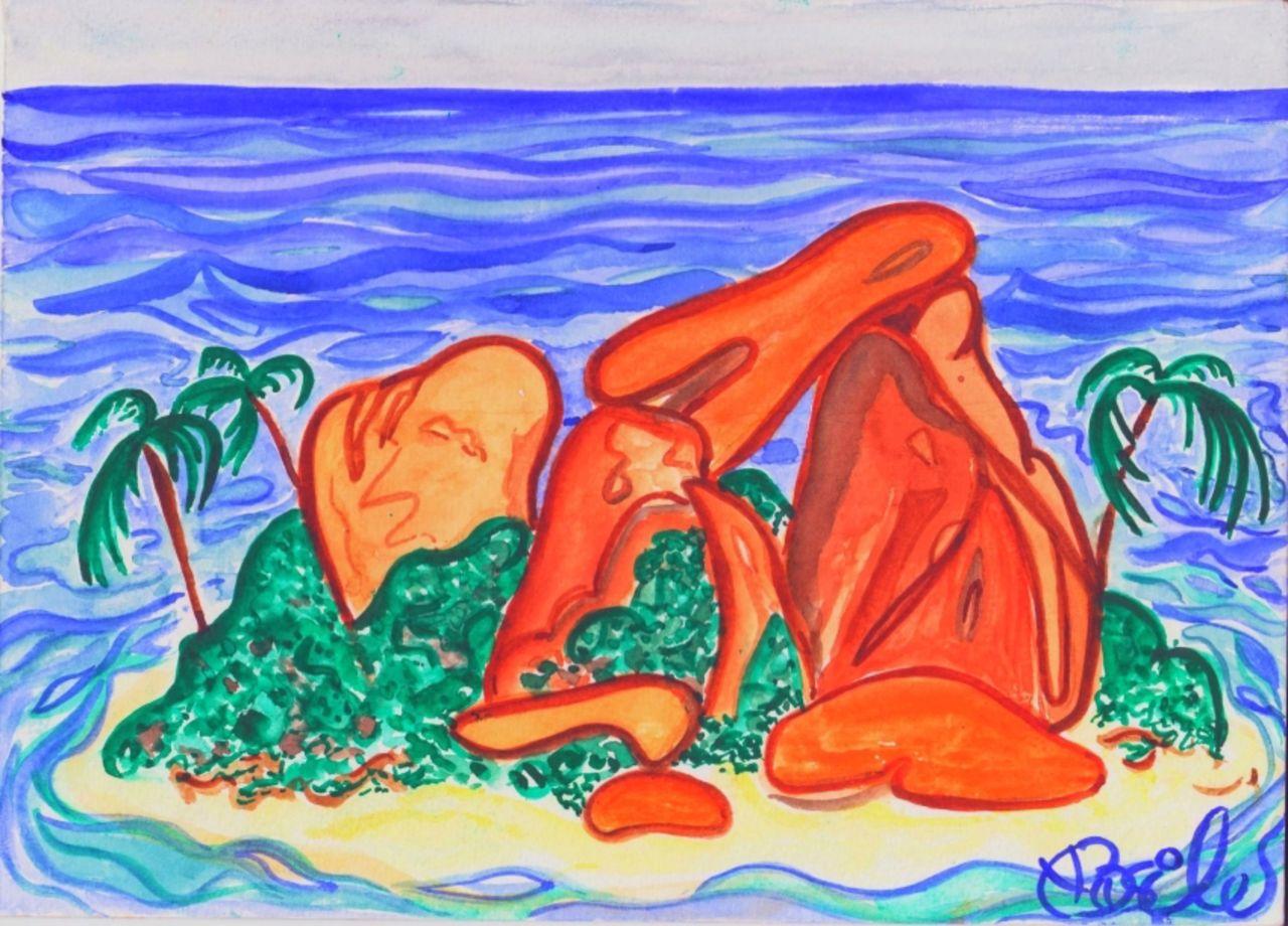 Basile Châtelain île Coco