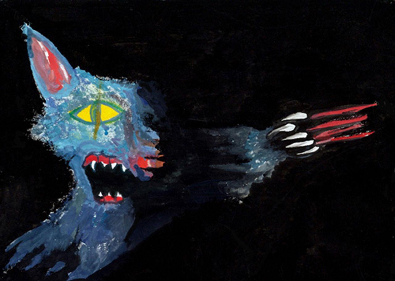 Basile Châtelain le loup attaque de nuit