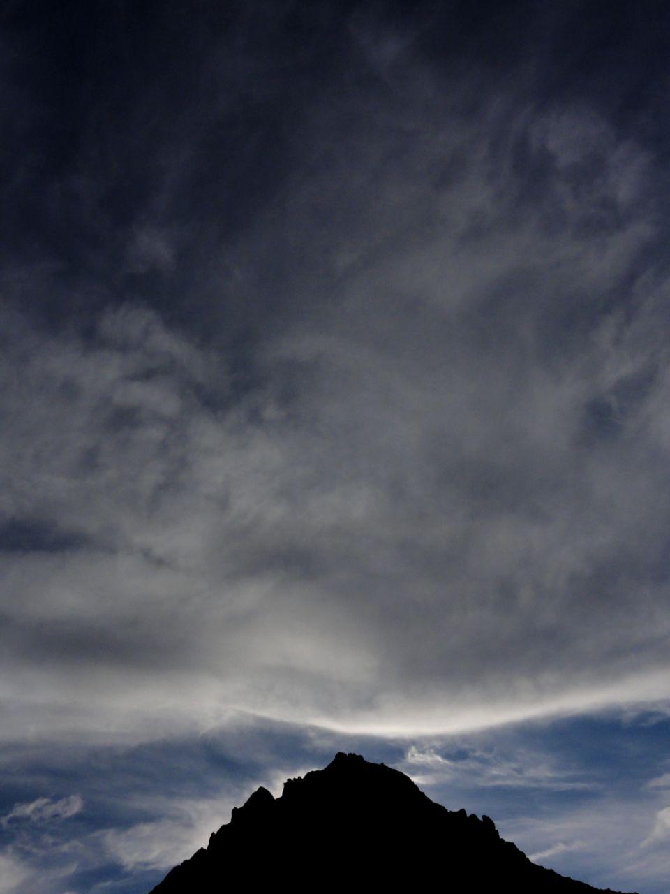 Basile Châtelain menace sur la montagne