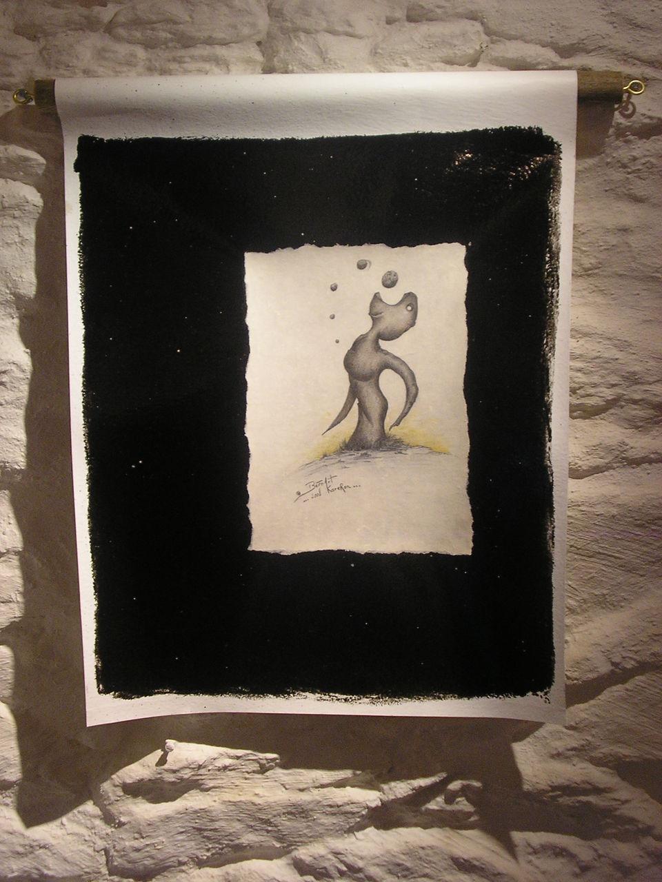 """Bern Art """"KaréRon"""" P.erramant centitre Troix 57x44"""