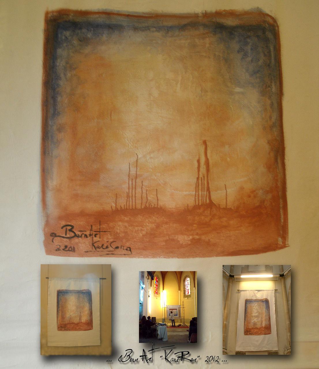"Bern Art ""KaréRon"" P.erramant centitre treizong 160x150"