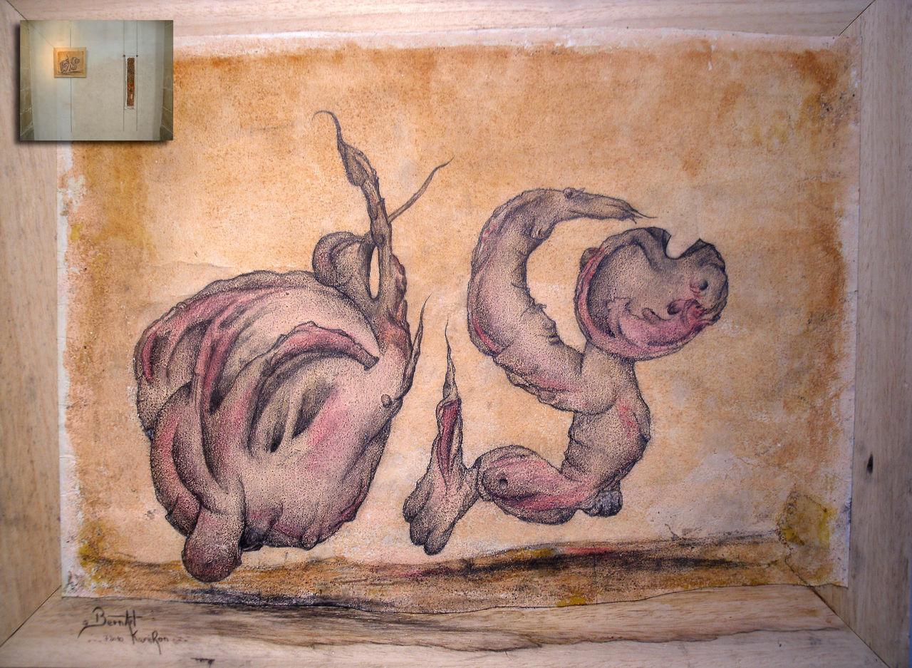 "Bern Art ""KaréRon"" P.erramant centitre treiztri 48x63"