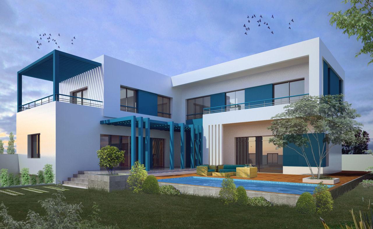 Bicha Marouen architecte Villa S.N
