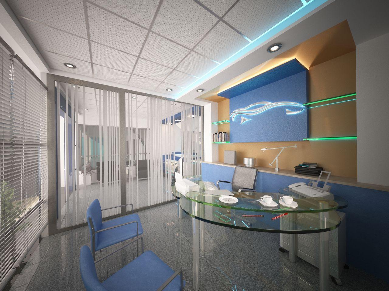 Bicha Marouen architecte Vue intérieur (Royaume autos)