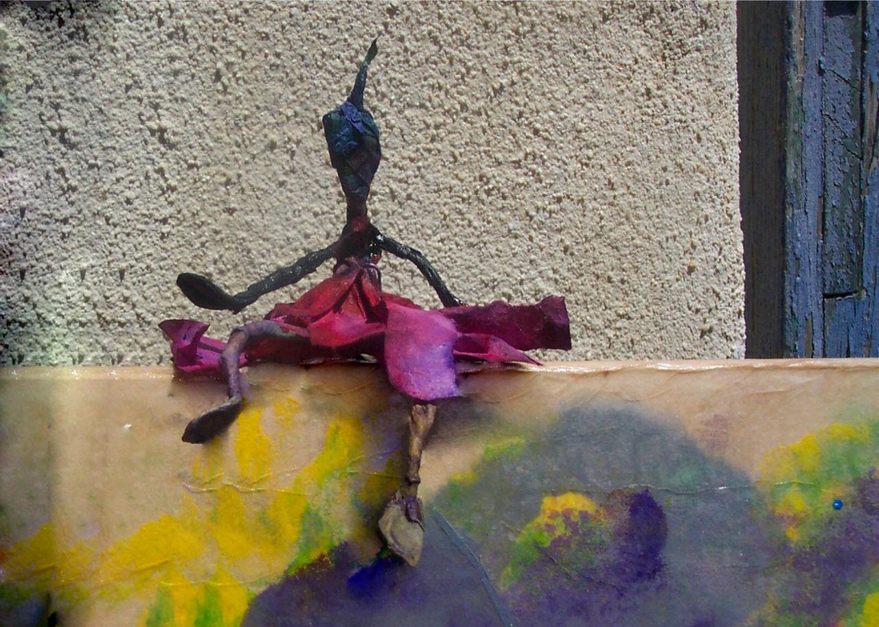 brigitte barberane Fleurs de Sorcière (détail, la p'tite sorcière)