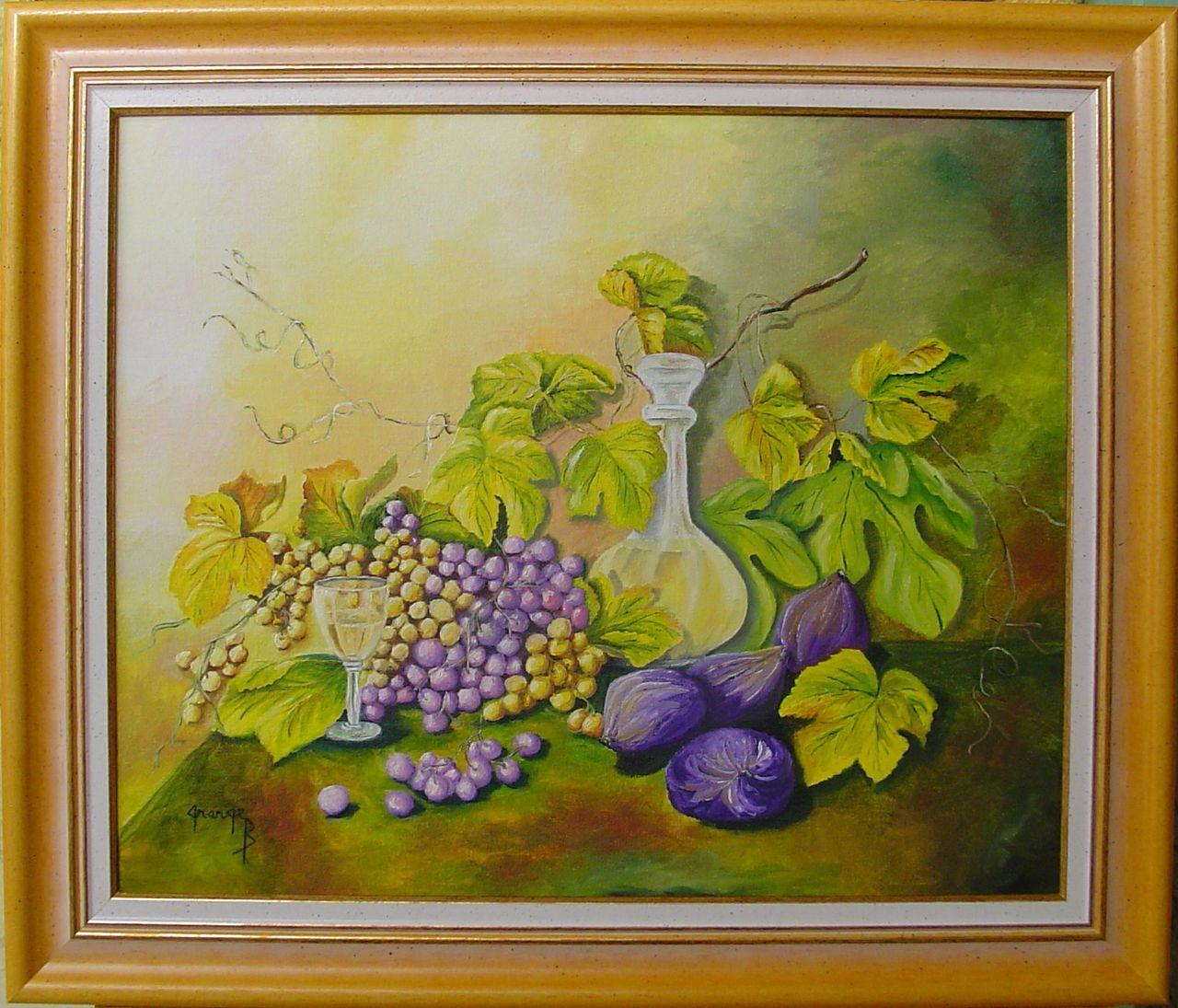 Brigitte  Grange Fruits et vin