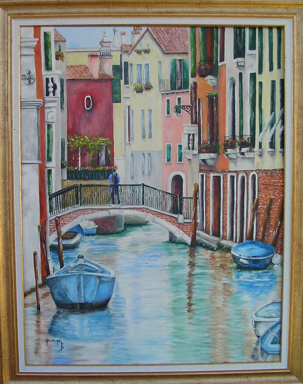 Brigitte  Grange Canal Vénitien