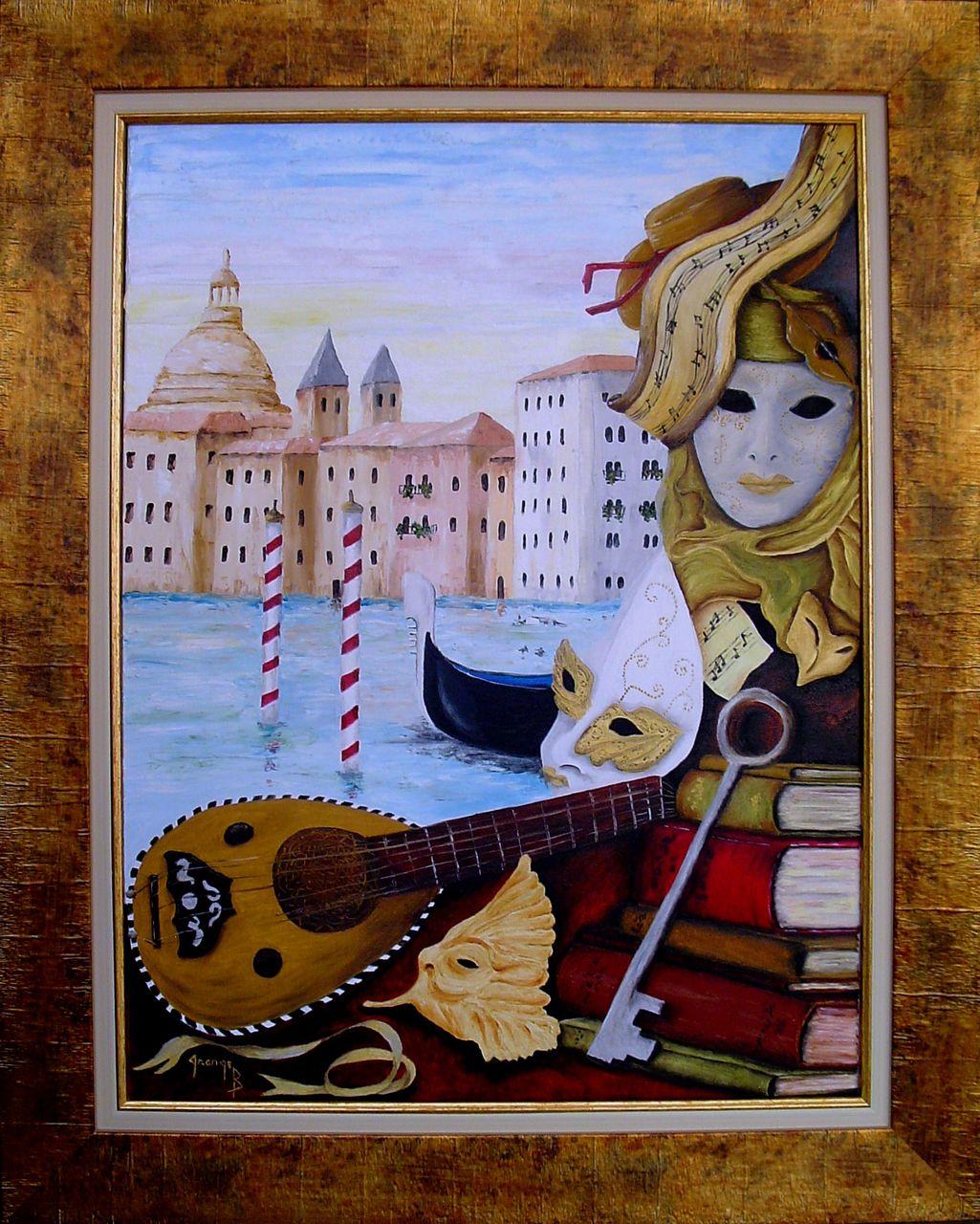 Brigitte  Grange Venise baroque