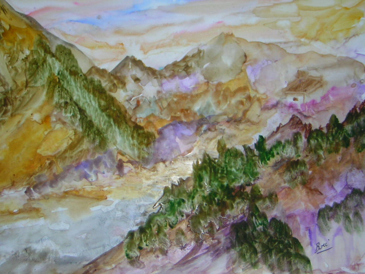 Brigitte Noelle montagne