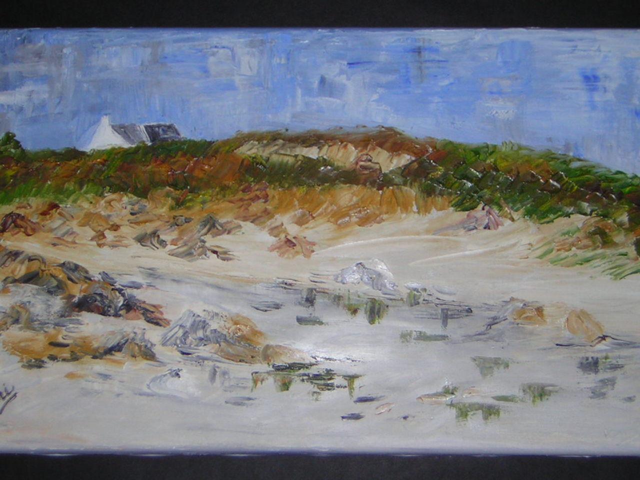 Brigitte Noelle maison sur la dune