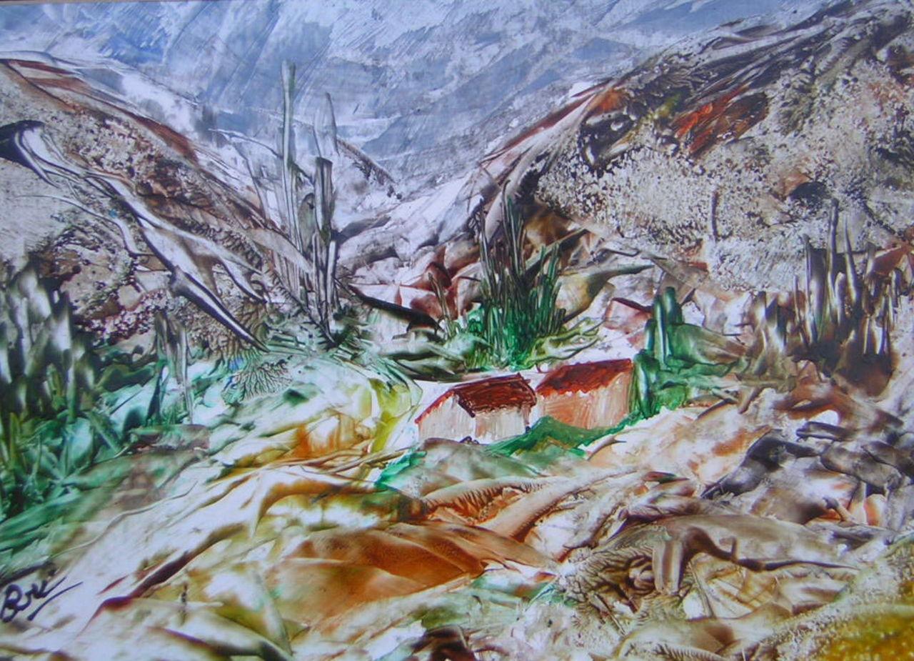 Brigitte Noelle Au delà de la montagne