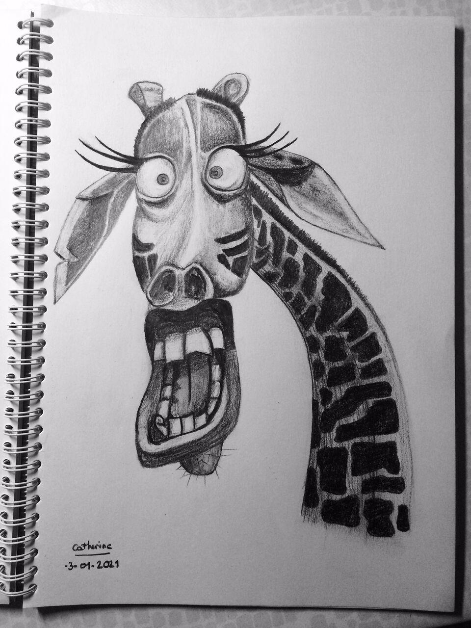Catherine GRENOUILLAT Girafe