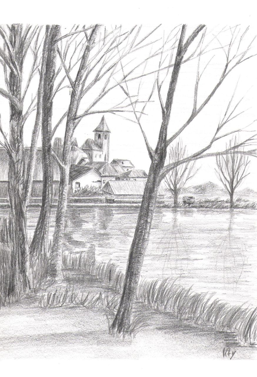 Catherine GRENOUILLAT Le lac