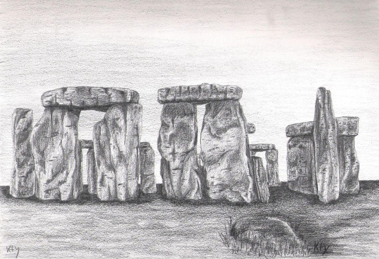 Catherine GRENOUILLAT Stonehenge
