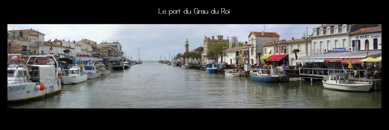 Catherine GRENOUILLAT Vue du port (Grau du roi)