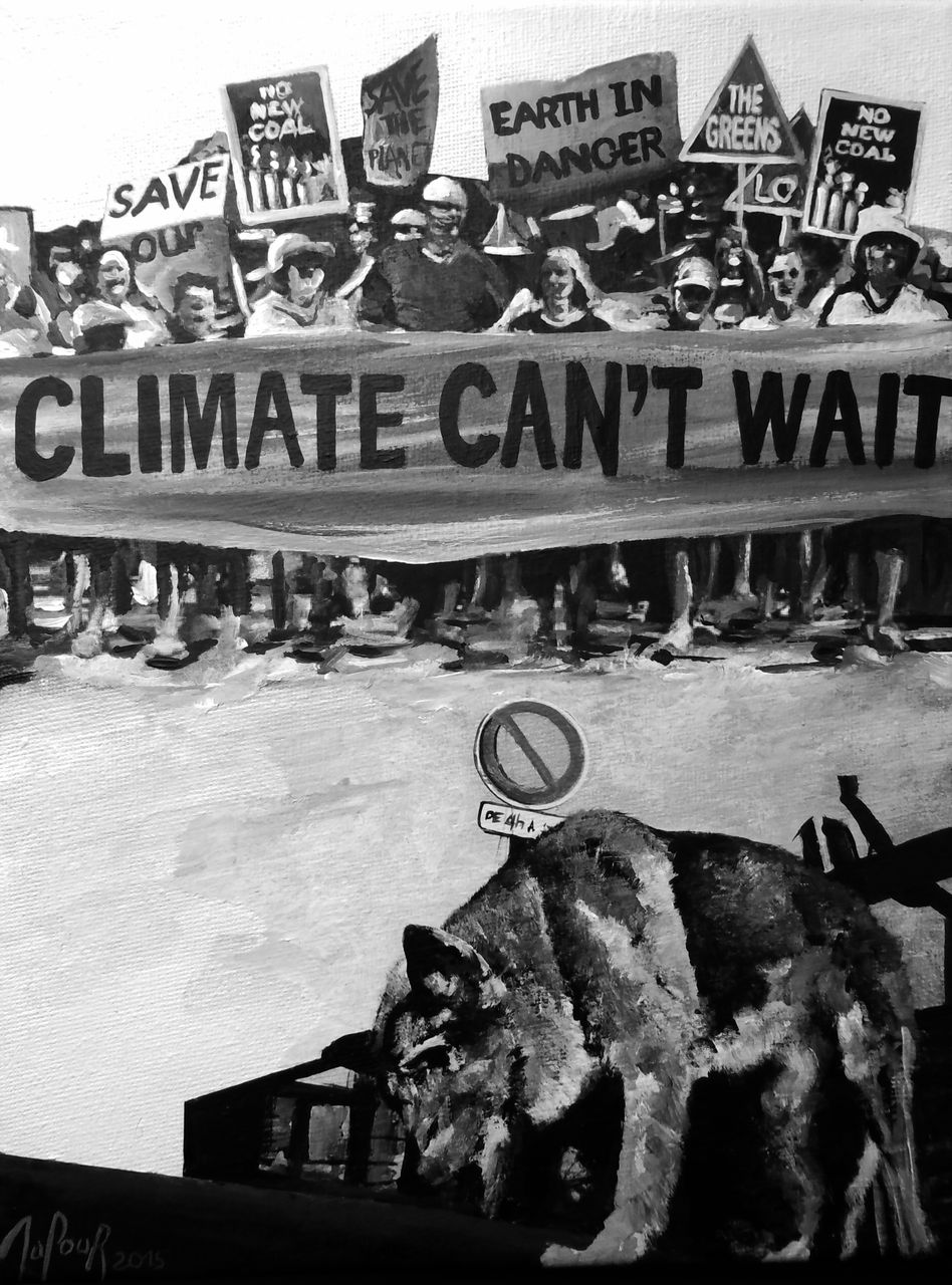 Cécile Dufour Climate can't wait