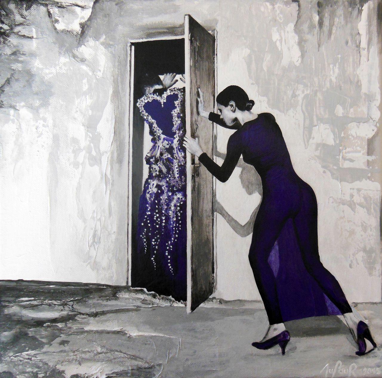 Cécile Dufour Derrière la porte