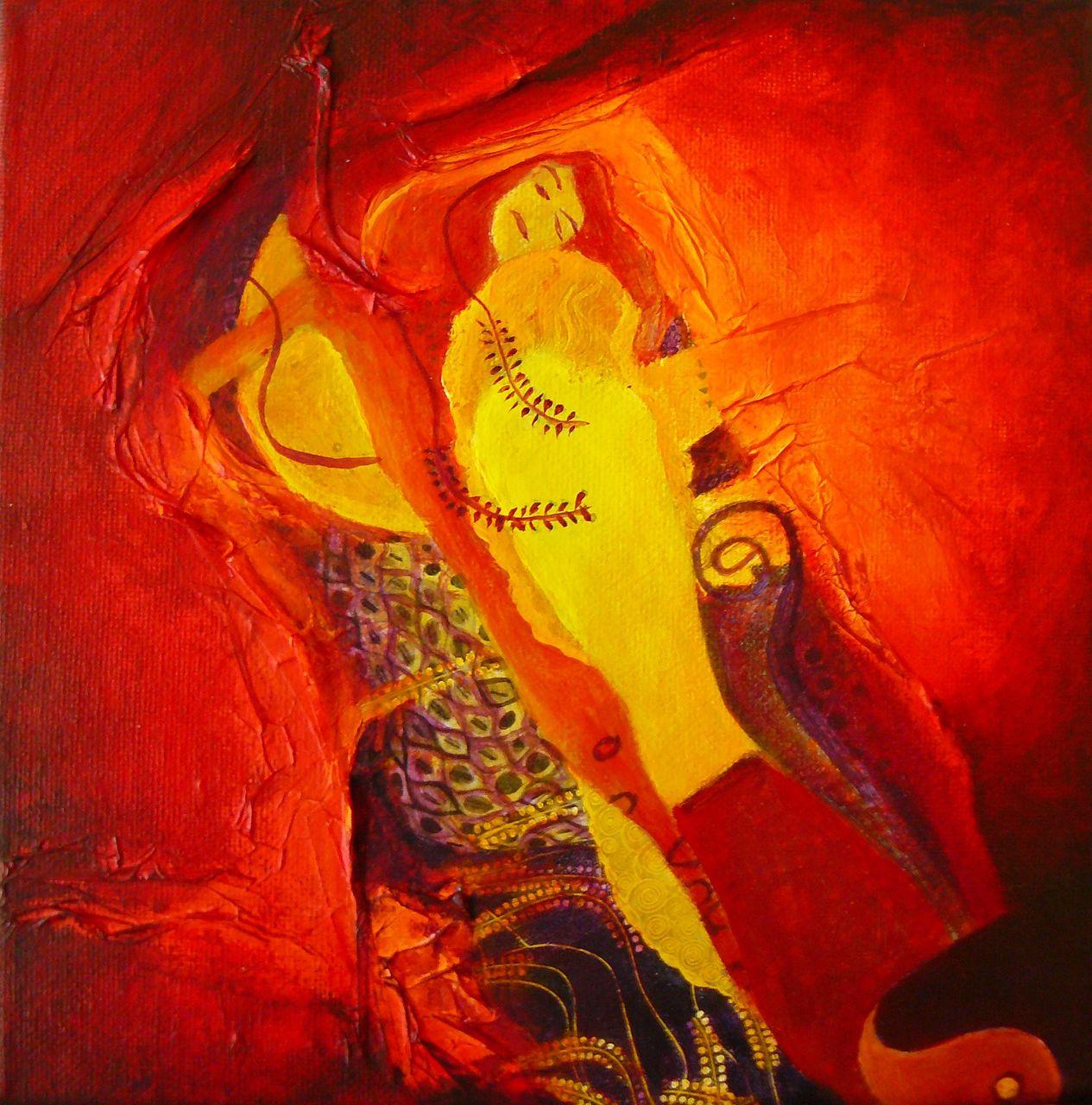 Cécile Dufour Hommage à Klimt 1