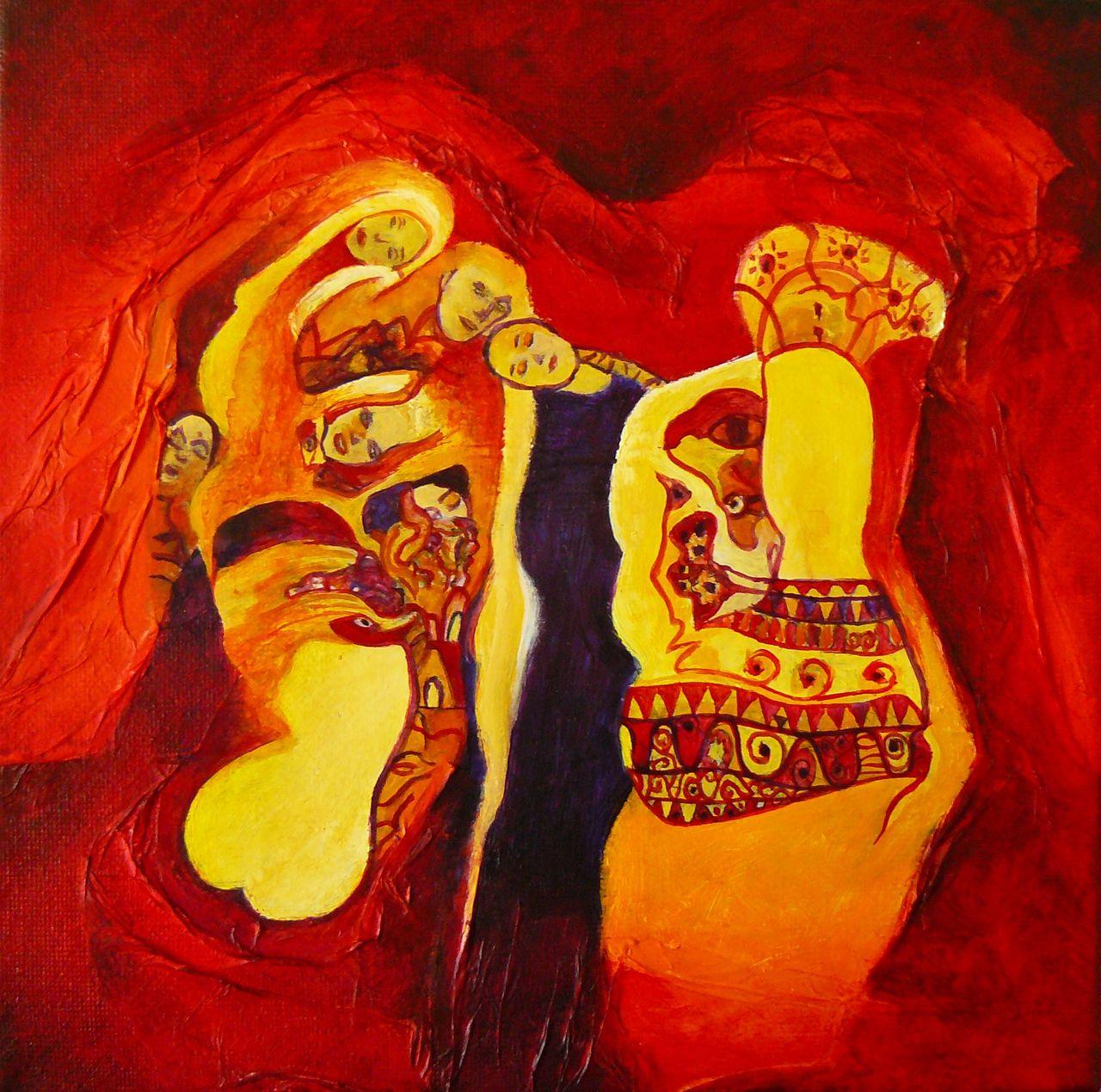 Cécile Dufour Hommage à Klimt 2