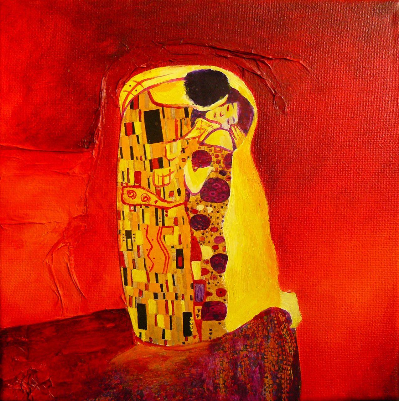 Cécile Dufour Hommage à Klimt 3