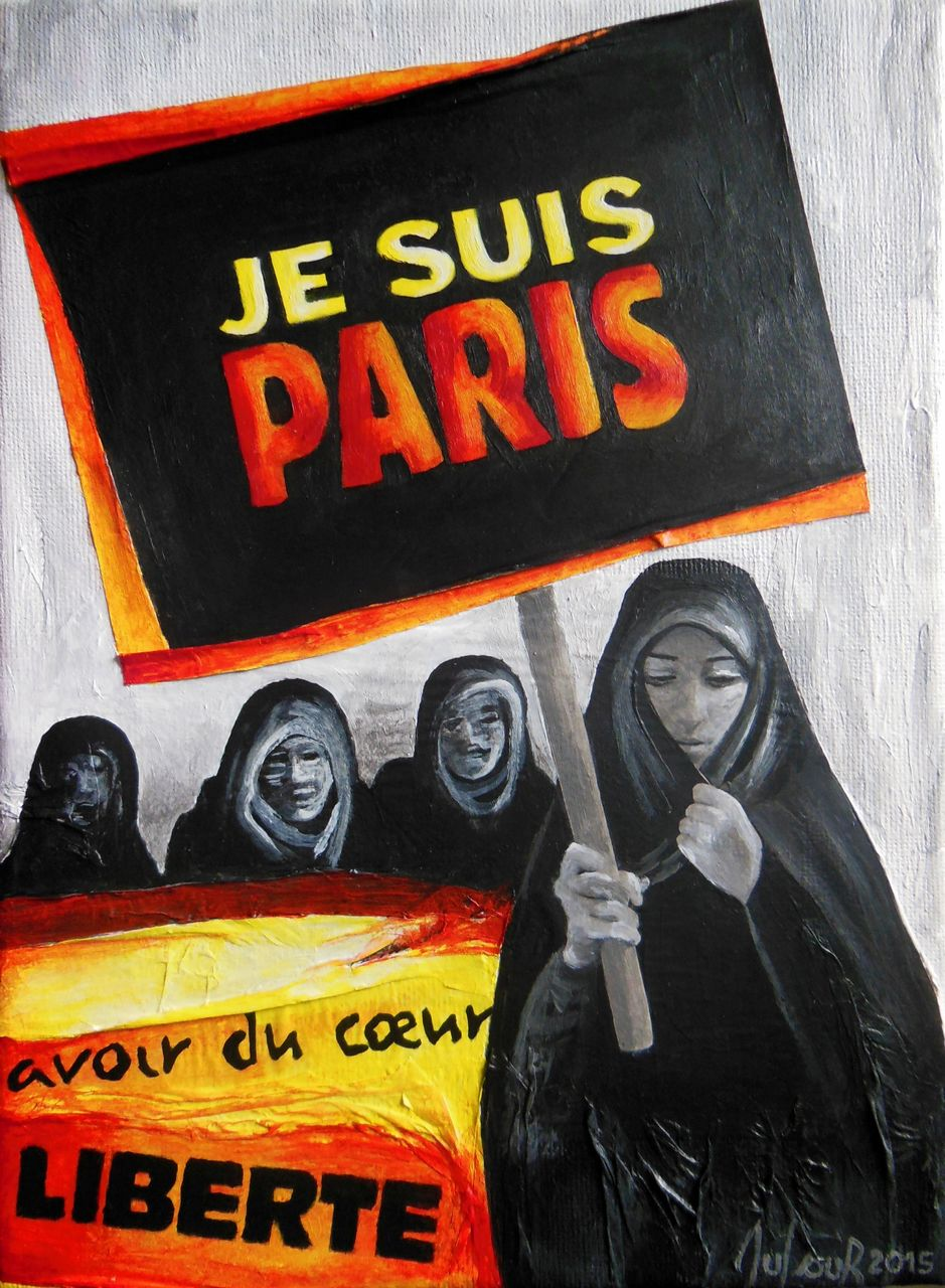 Cécile Dufour Je suis Paris