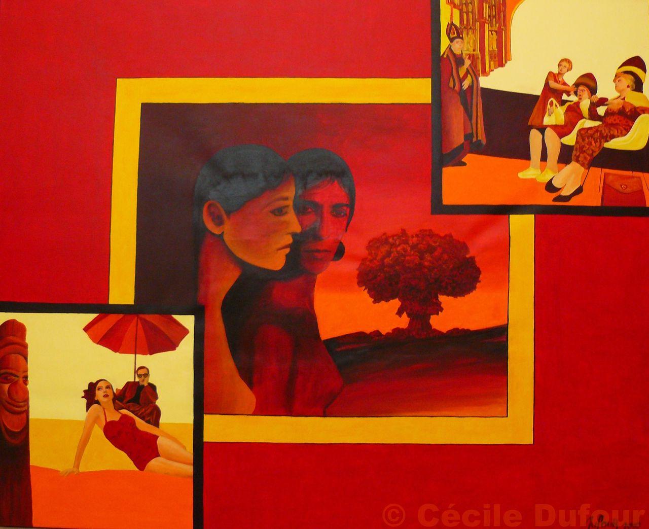 Cécile Dufour Miroirs biaisés