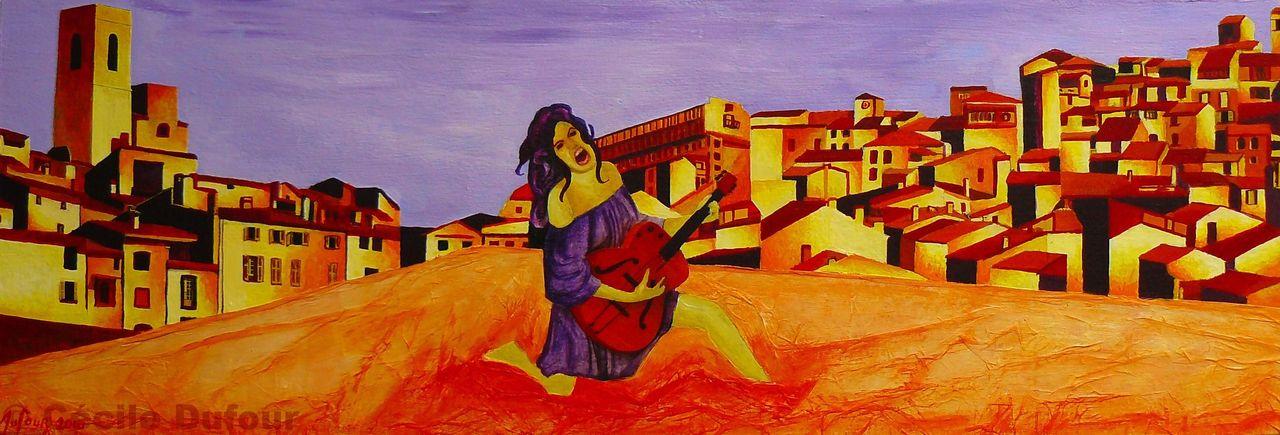 Cécile Dufour Musique sur la ville